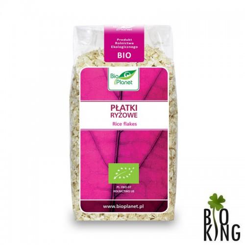Płatki ryżowe organiczne bio - Bio Planet