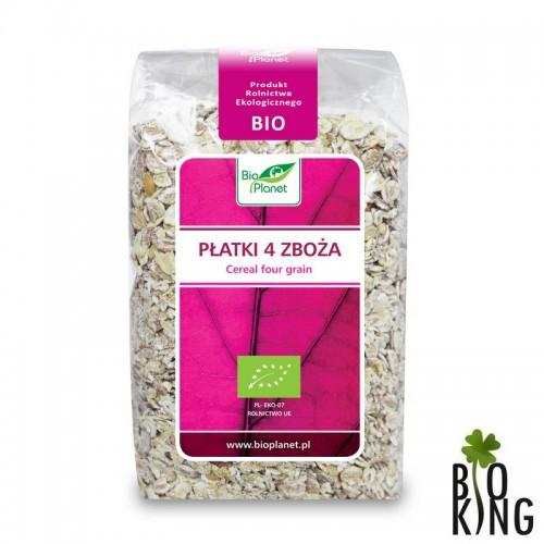 Płatki 4 zboża ekologiczne - Bio Planet