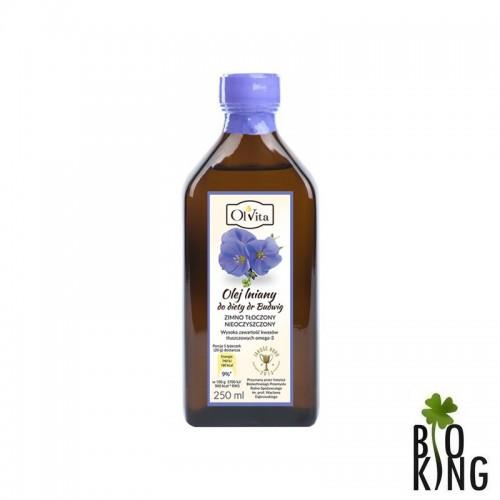 Olej lniany do diety Dr Budwig - Ol'vita
