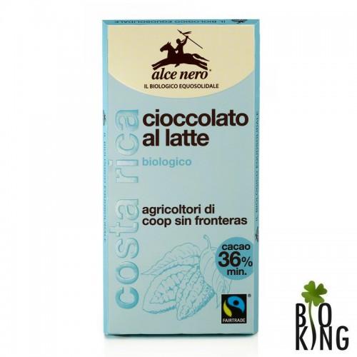 Czekolada mleczna fair trade bio - Alce Nero