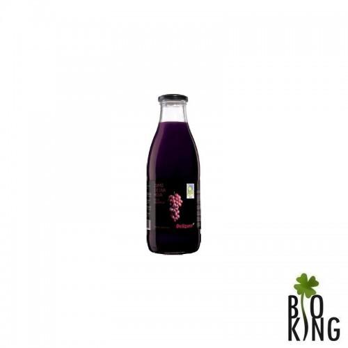Ekologiczny sok z czerwonych winogron bio - Delizum
