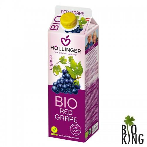 Sok z czerwonych winogron bio - Hollinger