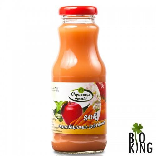 Sok marchwiowo-jabłkowy bio - Owocowe Smaki