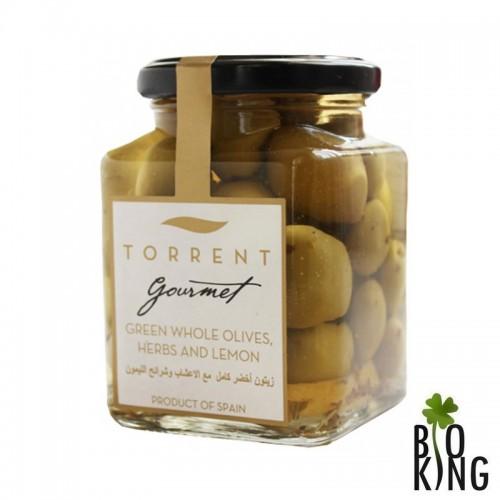 Oliwki Gourmet z ziołami i cytryną (z pestką)