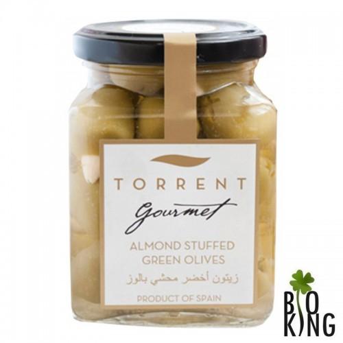 Zielone oliwki nadziewane migdałami - Torrent