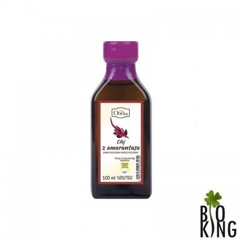 Olej z amarantusa zimnotłoczony - Ol'vita