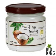 Olej kokosowy zimnotłoczony Olvita