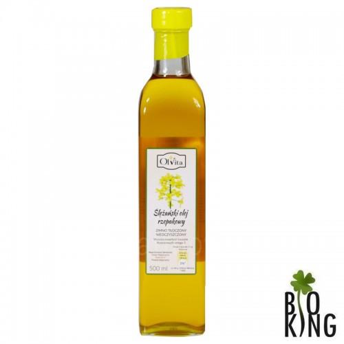 Ślężański olej rzepakowy zimnotłoczony Olvita