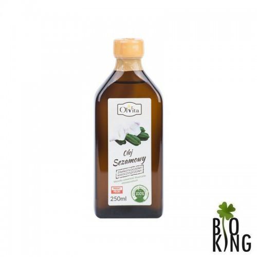 Olej sezamowy zimnotłoczony Ol'Vita