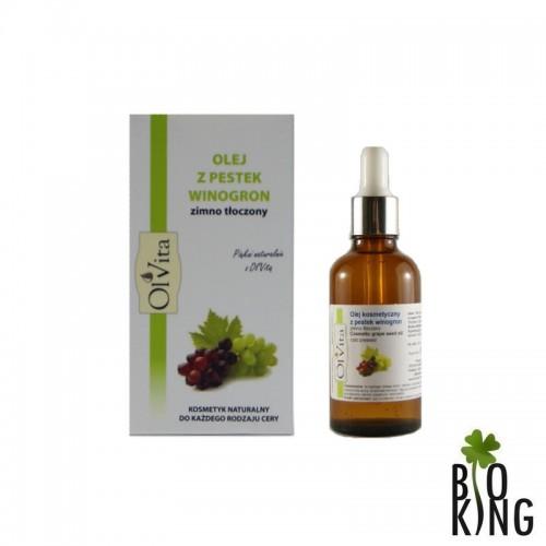 Olej z pestek winogron kosmetyczny Ol'Vita