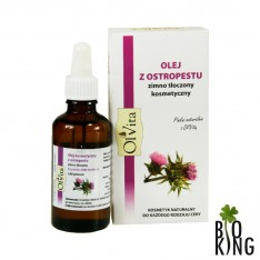 Olej z ostropestu kosmetyczny Ol'Vita
