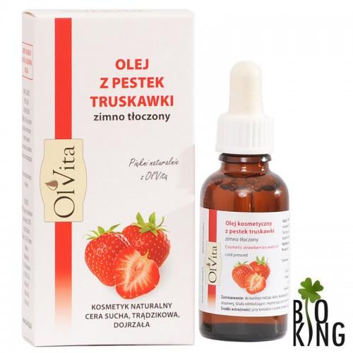 Olej z pestek truskawki kosmetyczny Ol'Vita