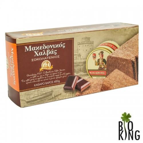 Chałwą z gorzką czekoladą macedońska