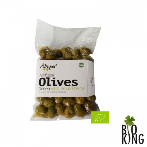 Oliwki greckie z ziołami niedrylowane Atrapos