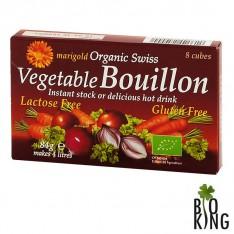 Bulion warzywny bezglutenowy kostki Marigold