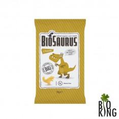 Chrupki kukurydziane bez glutenu o smaku serowym