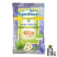 Cukierki nadziewane bio szałwia i zioła Alpenbauer