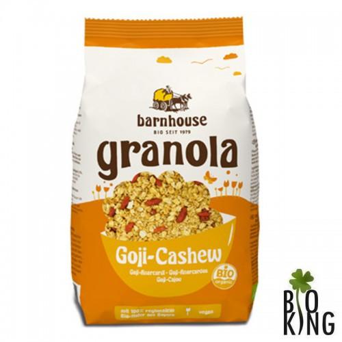Granola z jagodami goji i orzechami nerkowca Barnhouse
