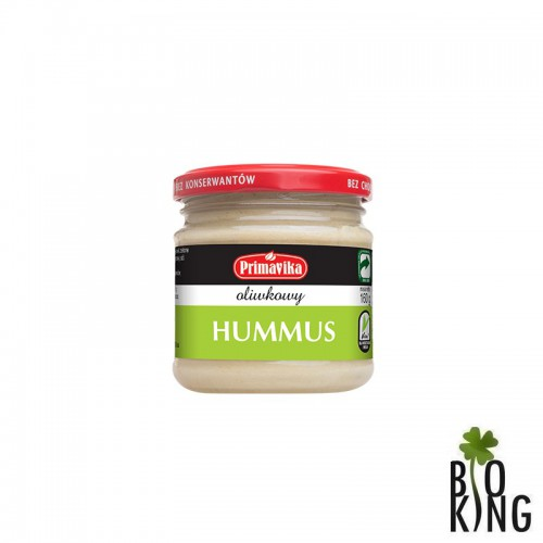 Hummus oliwkowy Primavika bezglutenowy