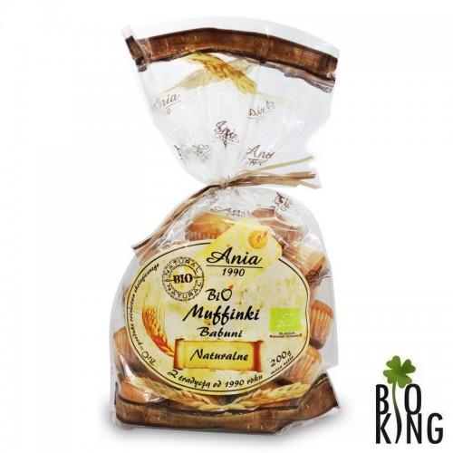 Muffinki Babuni naturalne organiczne Ania