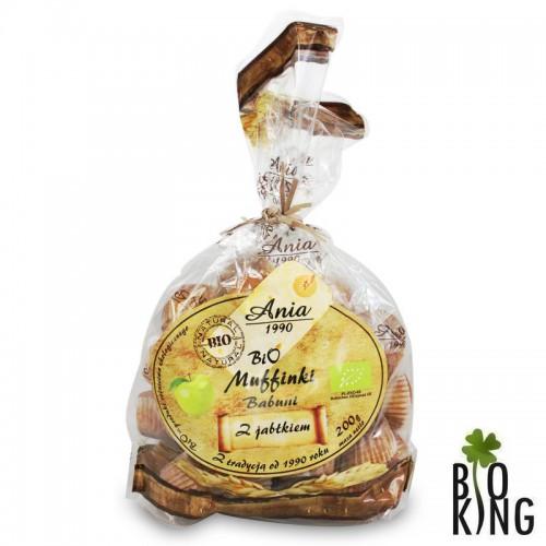 Muffinki Babuni z jabłkiem bio Ania