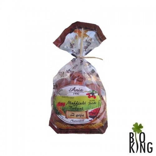 Muffinki Babuni z jagodami goji Ania