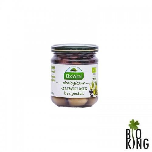 Ekologiczne oliwki mix bez pestek EkoWital