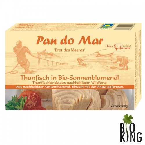 Tuńczyk w bio oleju słonecznikowym Pan Do Mar