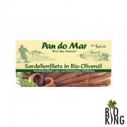 Anchois (sardele) w bio oliwie z oliwek Pan Do Mar