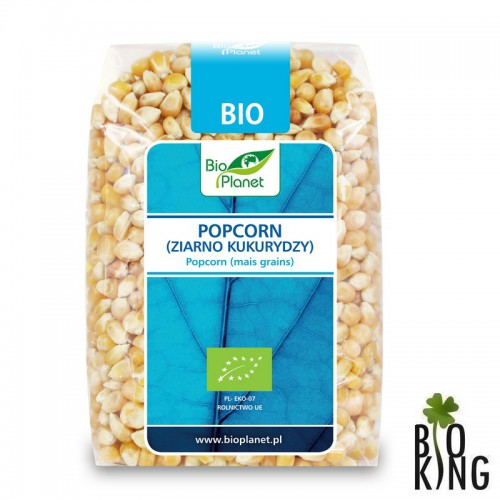 Popcorn ziarno kukurydzy bio Bio Planet