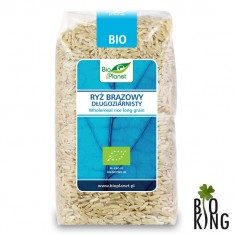 Ryż brązowy długoziarnisty bio Bio Planet