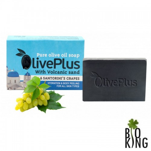 Mydło oliwkowe z pyłem wulkanicznym OlivePlus