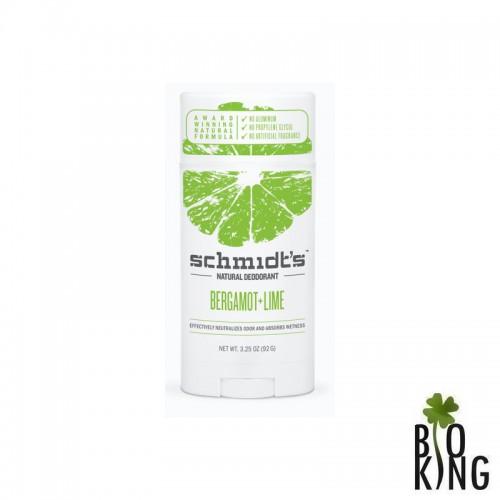 Dezodorant bio w sztyfcie limonka/bergamotka Schmidts