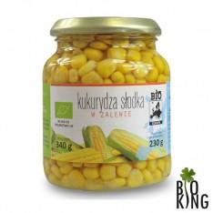 Kukurydza słodka bio w zalewie Bio Europa