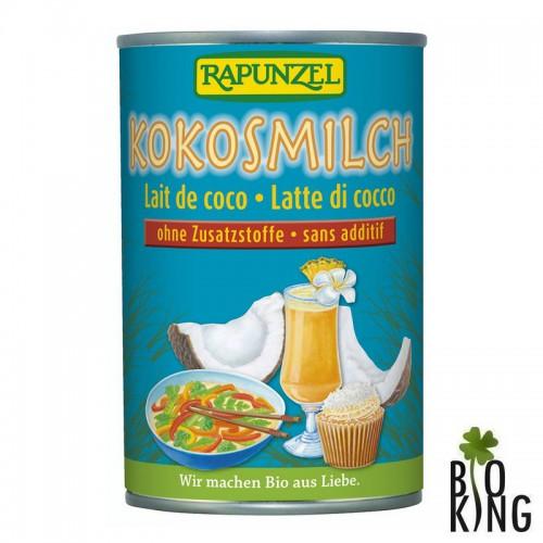 Mleko kokosowe organiczne w puszce Rapunzel