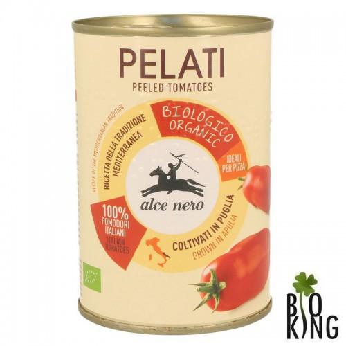 Pomidory pelati bez skóry bio puszka Alce Nero