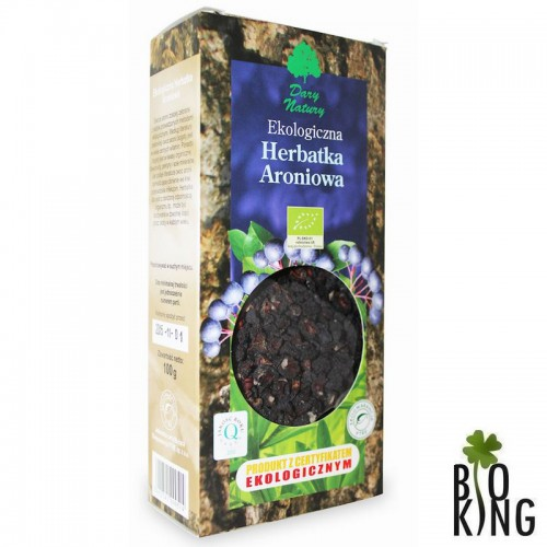 Herbatka aroniowa bio ekologiczna Dary Natury