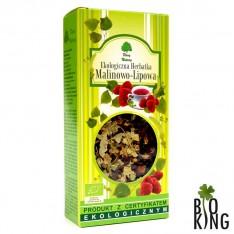 Herbatka malinowo-lipowa bio Dary Natury