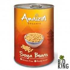 Soja konserwowa w puszce bio Amaizin