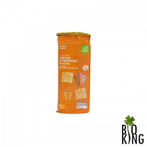 Krakersy z oliwą z oliwek bio Ecor