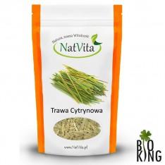Trawa cytrynowa pocięta ekologiczna NatVita