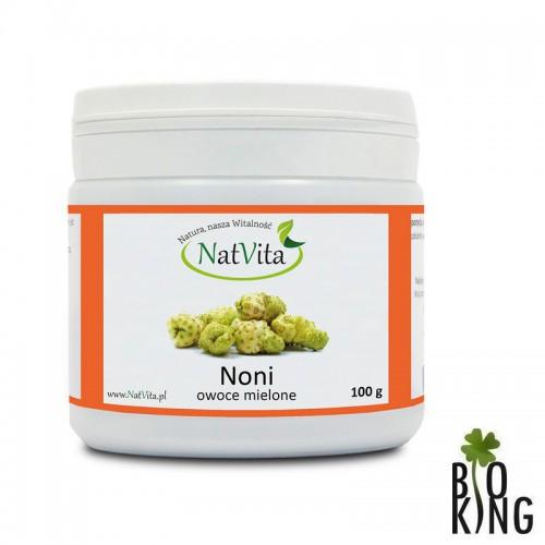 Noni (morwa indyjska) owoce mielone NatVita