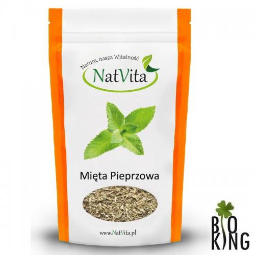 Mięta pieprzowa liście suszone bio NatVita