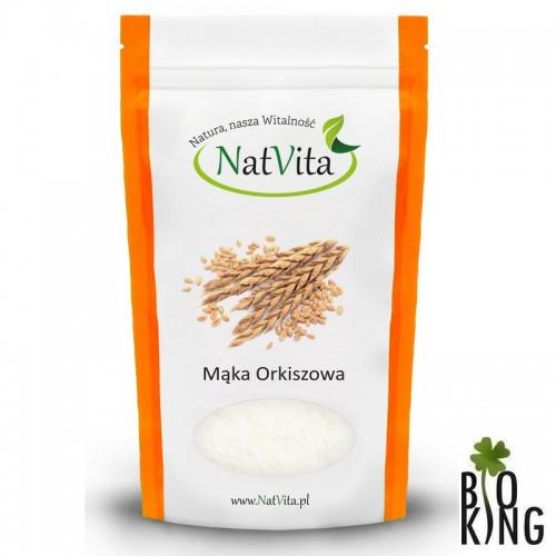 Mąka orkiszowa jasna typ 200 bio NatVita