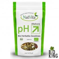 Herbatka zasadowa odkwaszająca bio NatVita