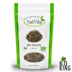 Herbata Sencha zielona organiczna NatVita