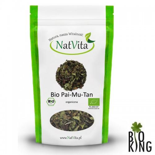 Herbata Pai Mu Tan biała organiczna NatVita