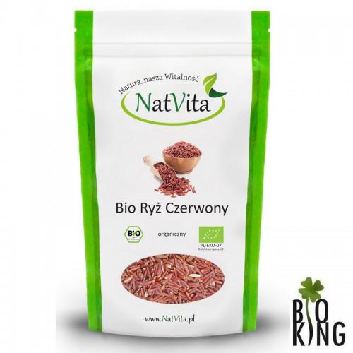 Ryż czerwony bio ekologiczny NatVita