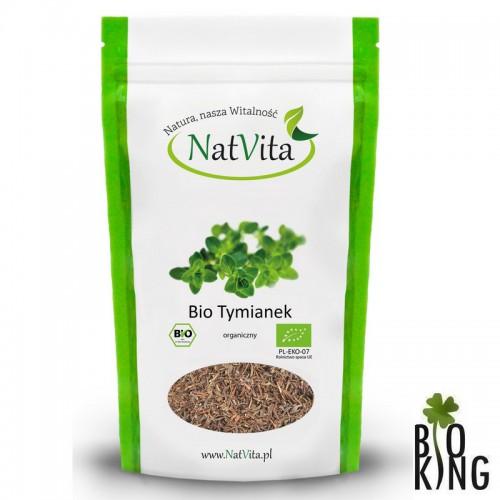 Tymianek organiczny suszony bio NatVita