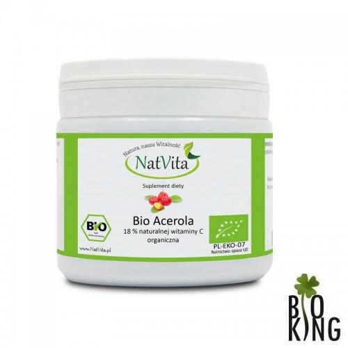 Bio acerola mielona (witamina C) 18% NatVita